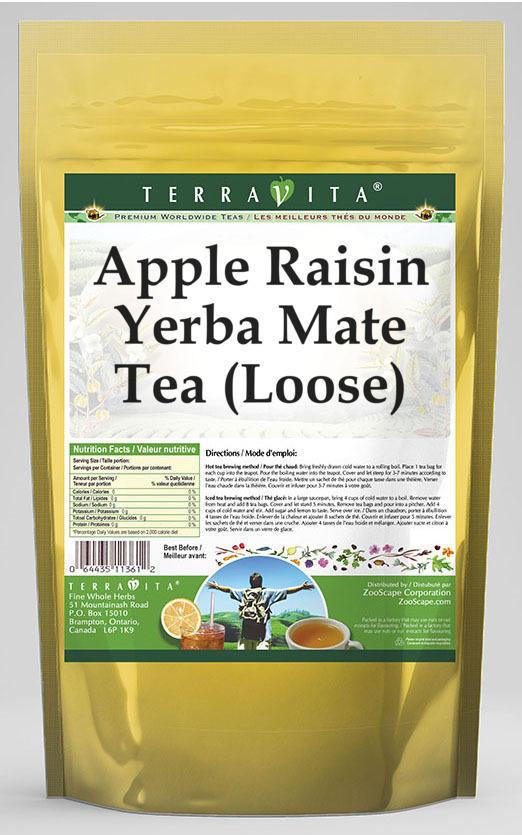 Apple Raisin Yerba Mate Tea (Loose)