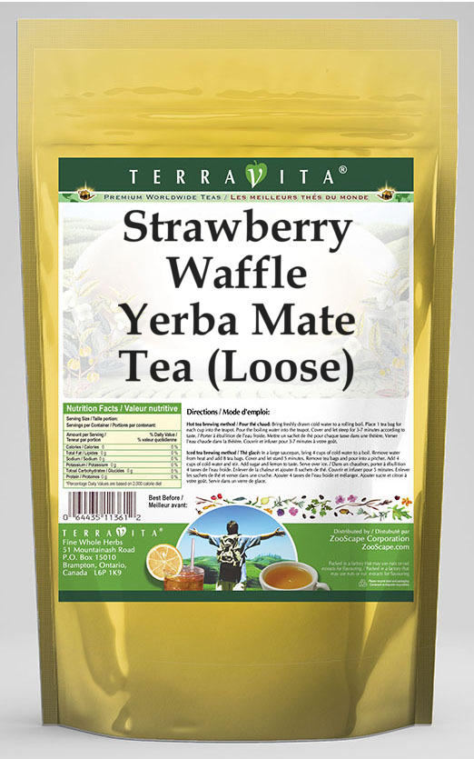 Strawberry Waffle Yerba Mate Tea (Loose)