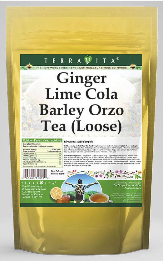Ginger Lime Cola Barley Orzo Tea (Loose)
