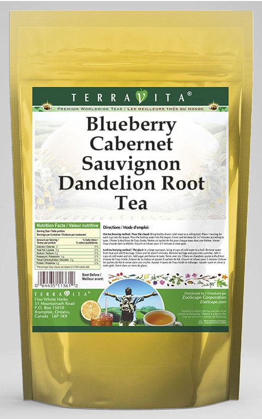 Blueberry Cabernet Sauvignon Dandelion Root Tea