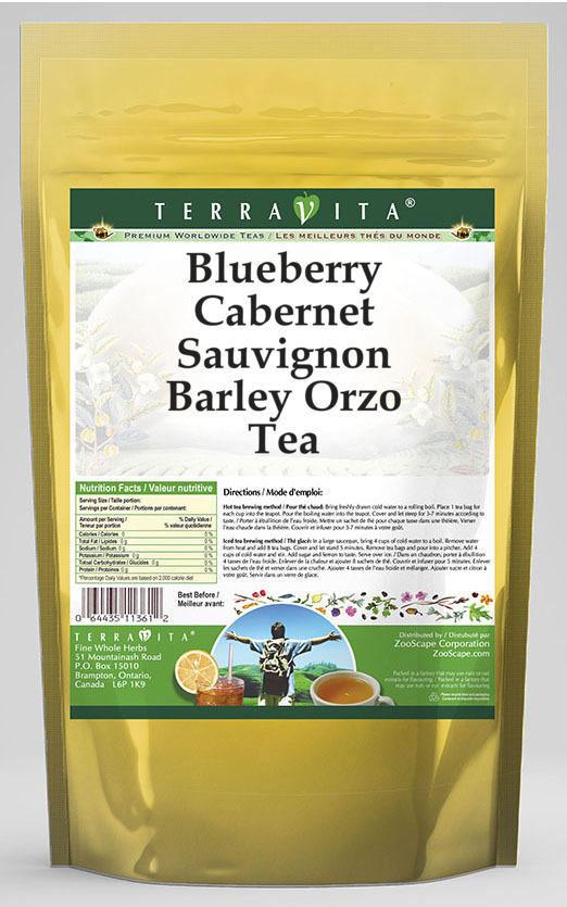 Blueberry Cabernet Sauvignon Barley Orzo Tea