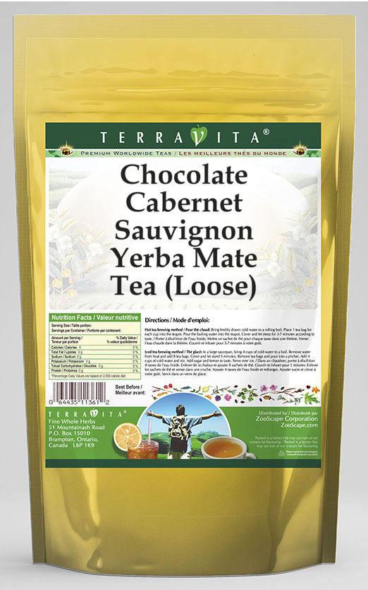 Chocolate Cabernet Sauvignon Yerba Mate Tea (Loose)