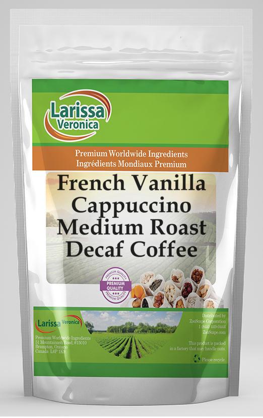 French Vanilla Cappuccino Medium Roast Decaf Coffee