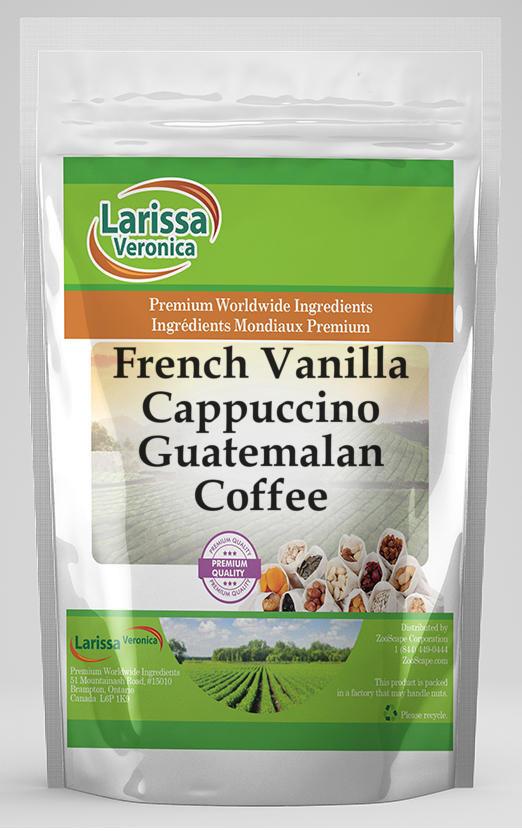 French Vanilla Cappuccino Guatemalan Coffee
