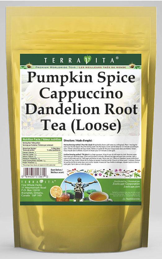 Pumpkin Spice Cappuccino Dandelion Root Tea (Loose)