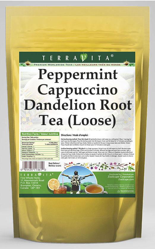 Peppermint Cappuccino Dandelion Root Tea (Loose)