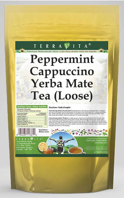 Peppermint Cappuccino Yerba Mate Tea (Loose)