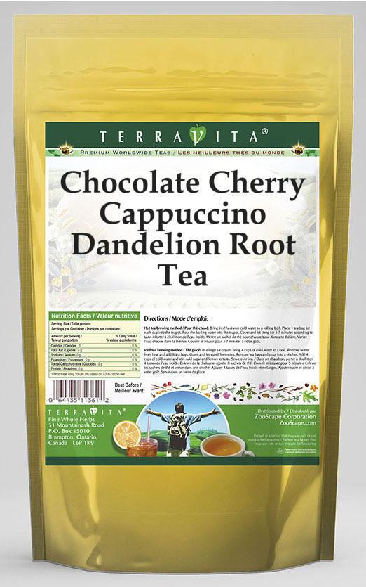 Chocolate Cherry Cappuccino Dandelion Root Tea