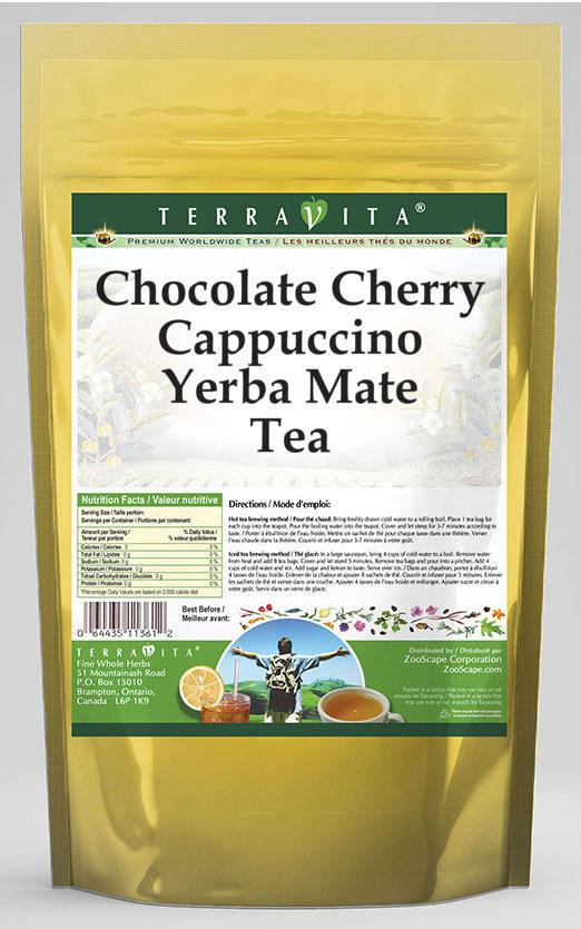 Chocolate Cherry Cappuccino Yerba Mate Tea