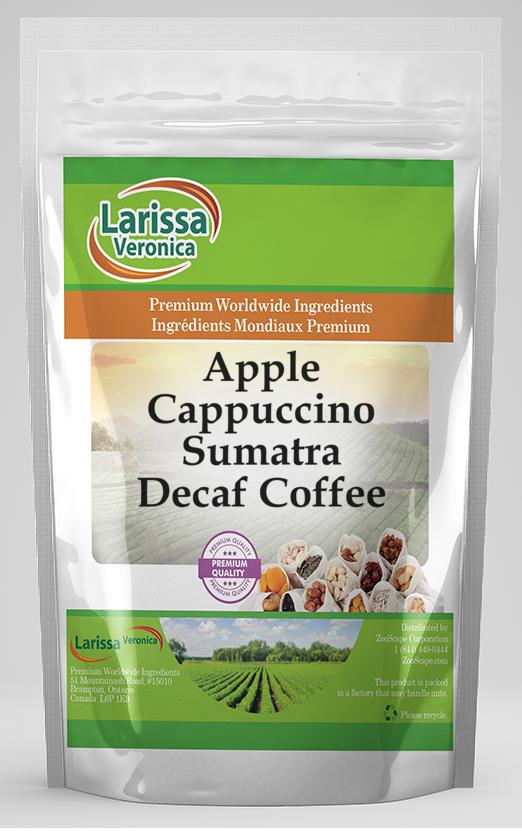 Apple Cappuccino Sumatra Decaf Coffee