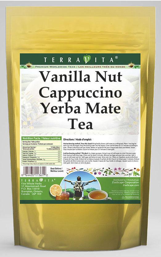 Vanilla Nut Cappuccino Yerba Mate Tea