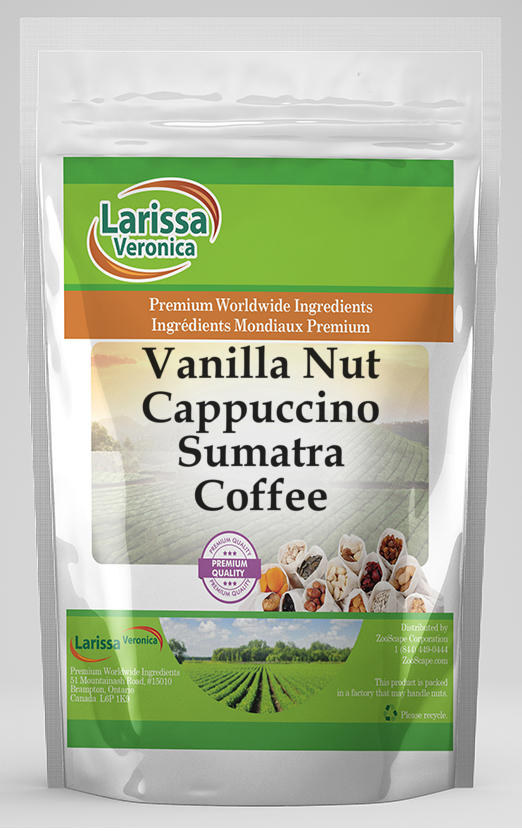 Vanilla Nut Cappuccino Sumatra Coffee