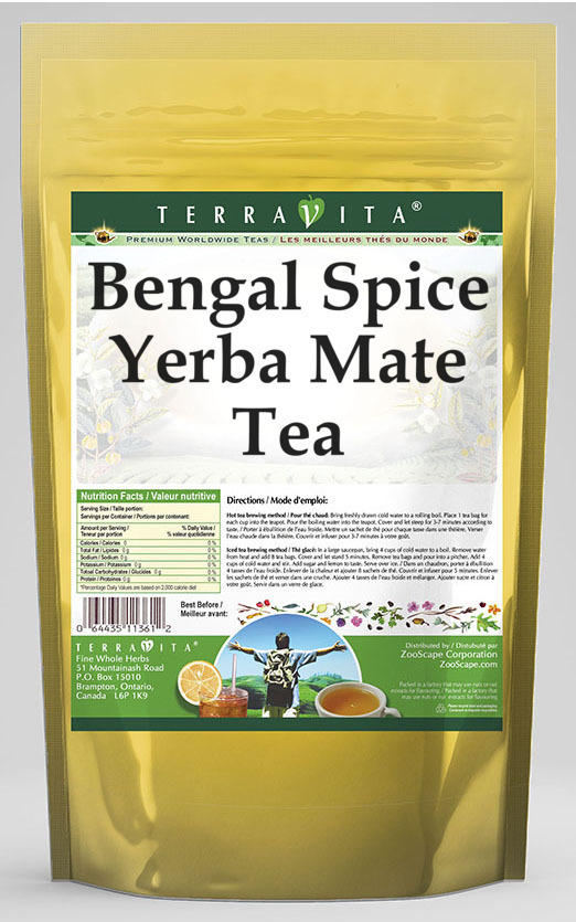 Bengal Spice Yerba Mate Tea