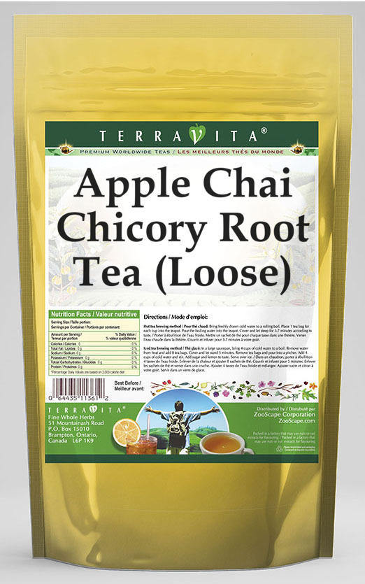 Apple Chai Chicory Root Tea (Loose)