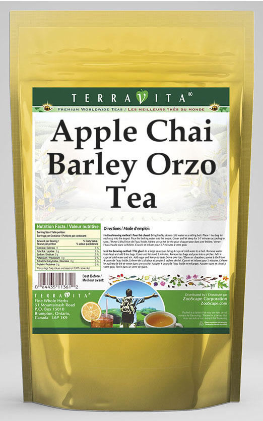 Apple Chai Barley Orzo Tea
