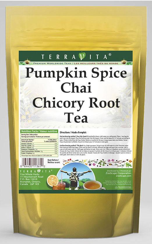 Pumpkin Spice Chai Chicory Root Tea