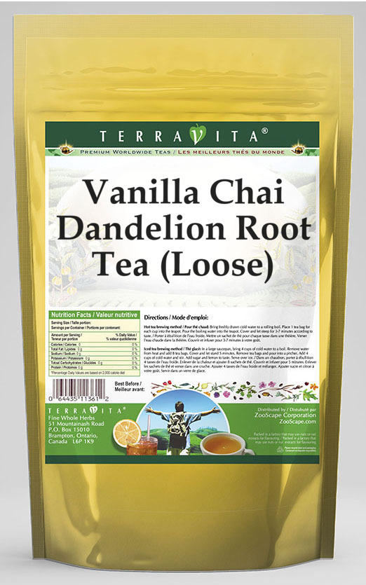 Vanilla Chai Dandelion Root Tea (Loose)