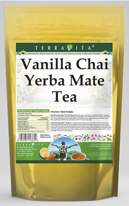Vanilla Chai Yerba Mate Tea