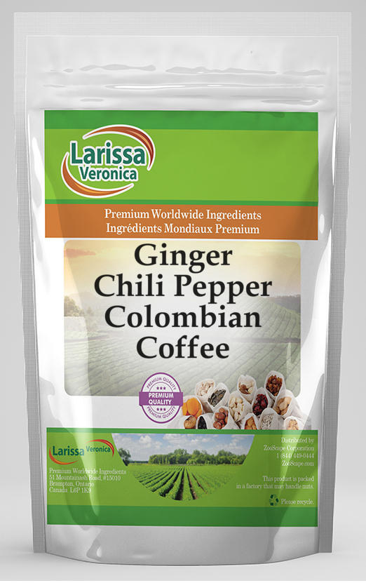 Ginger Chili Pepper Colombian Coffee