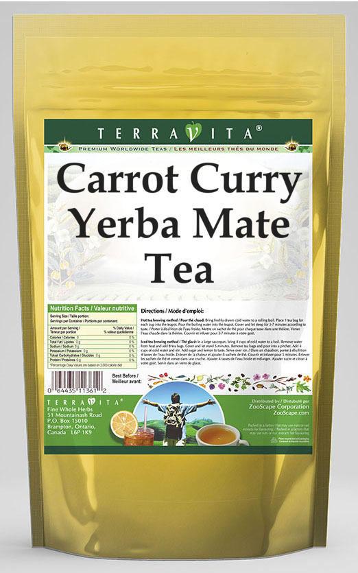 Carrot Curry Yerba Mate Tea