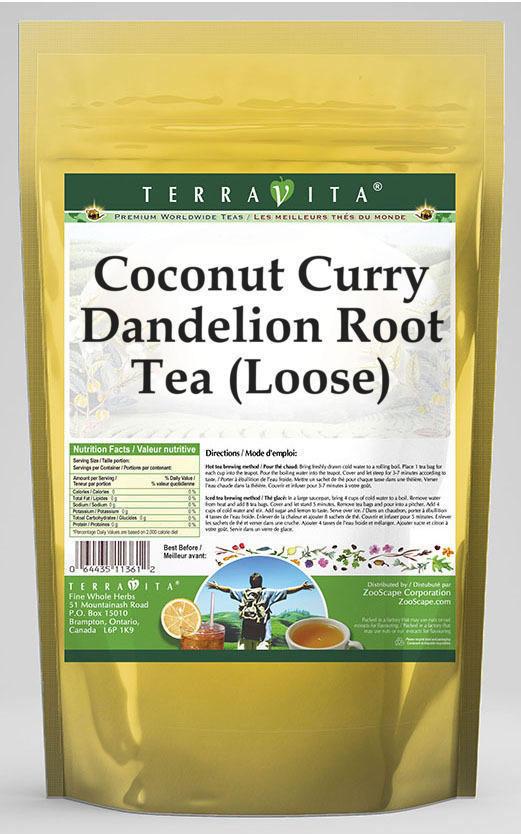 Coconut Curry Dandelion Root Tea (Loose)