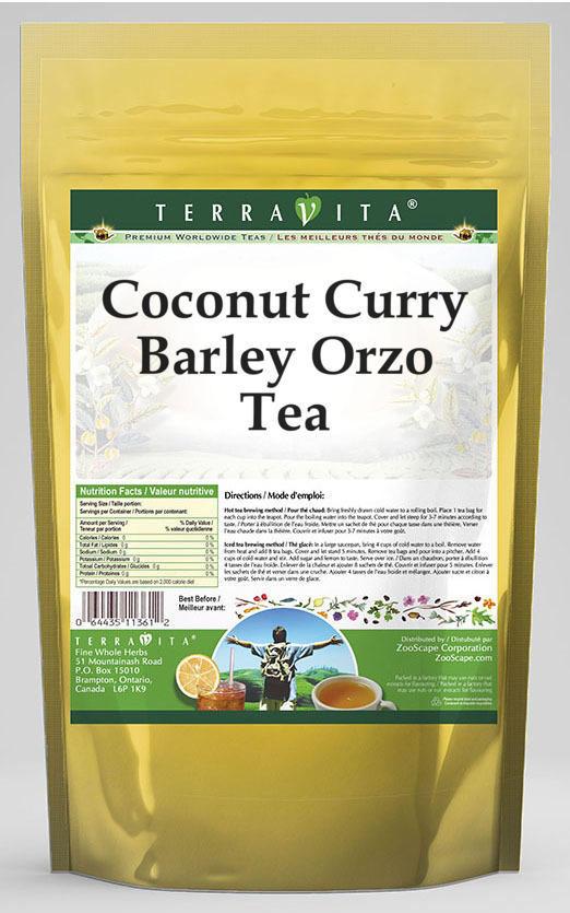 Coconut Curry Barley Orzo Tea