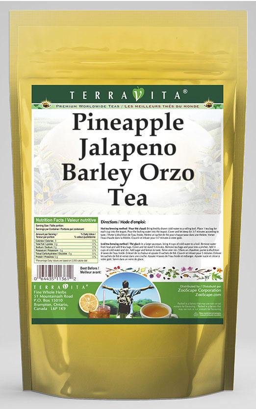 Pineapple Jalapeno Barley Orzo Tea