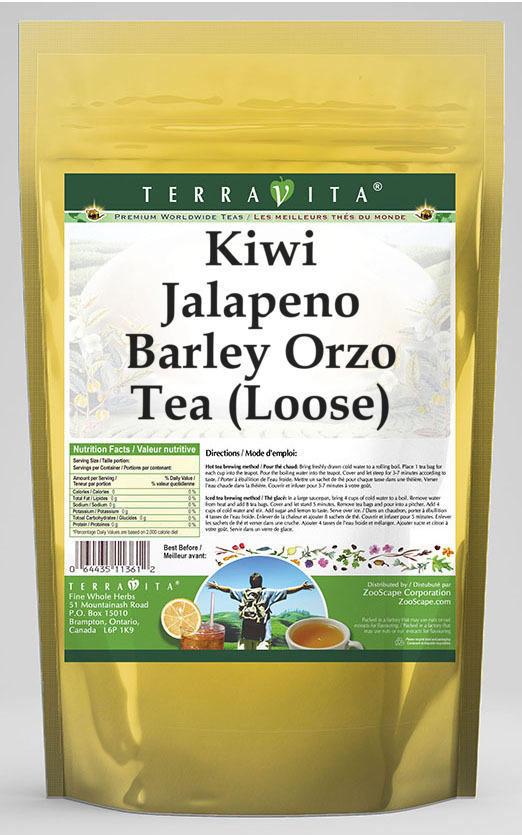 Kiwi Jalapeno Barley Orzo Tea (Loose)